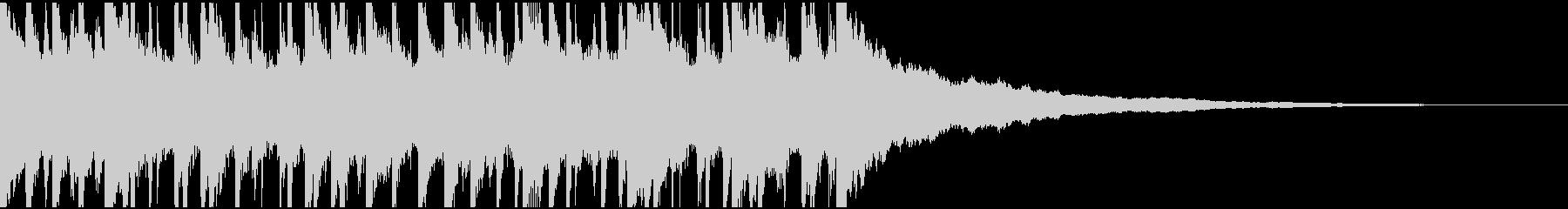 ウクレレ、ピアノの楽しい楽曲30秒verの未再生の波形