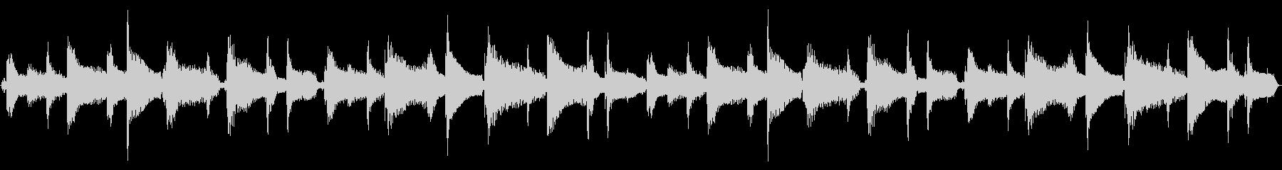 15秒ループ/可愛いウクレレポップスの未再生の波形