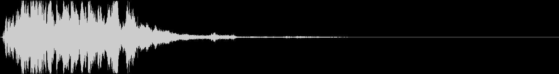 ロボット・機械・起動音・近未来dの未再生の波形