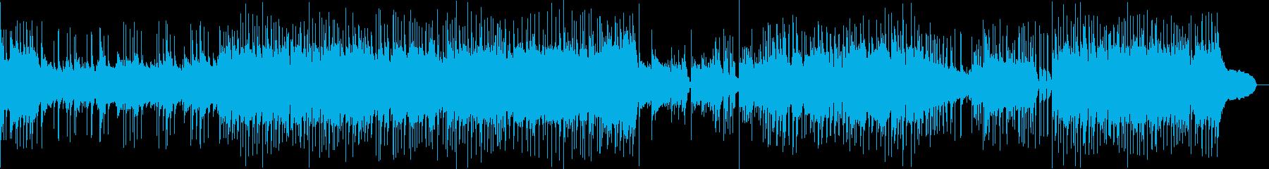 疾走感のあるジャズピアノインストの再生済みの波形