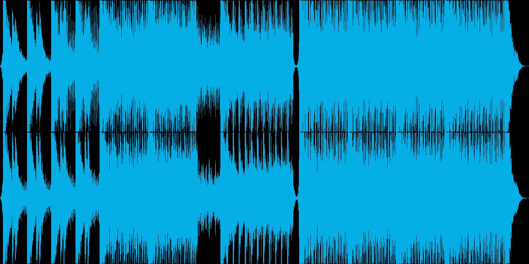 ワイドでモチベーションを感じるロックの再生済みの波形
