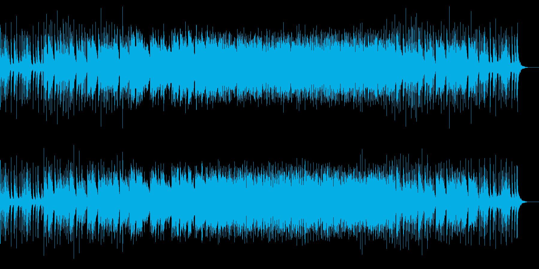 ファンタジーな森のBGM‐ループ無verの再生済みの波形