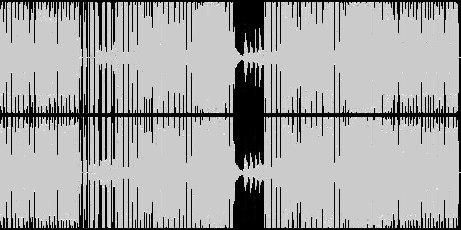 長いイントログルーブとパーカッショ...の未再生の波形