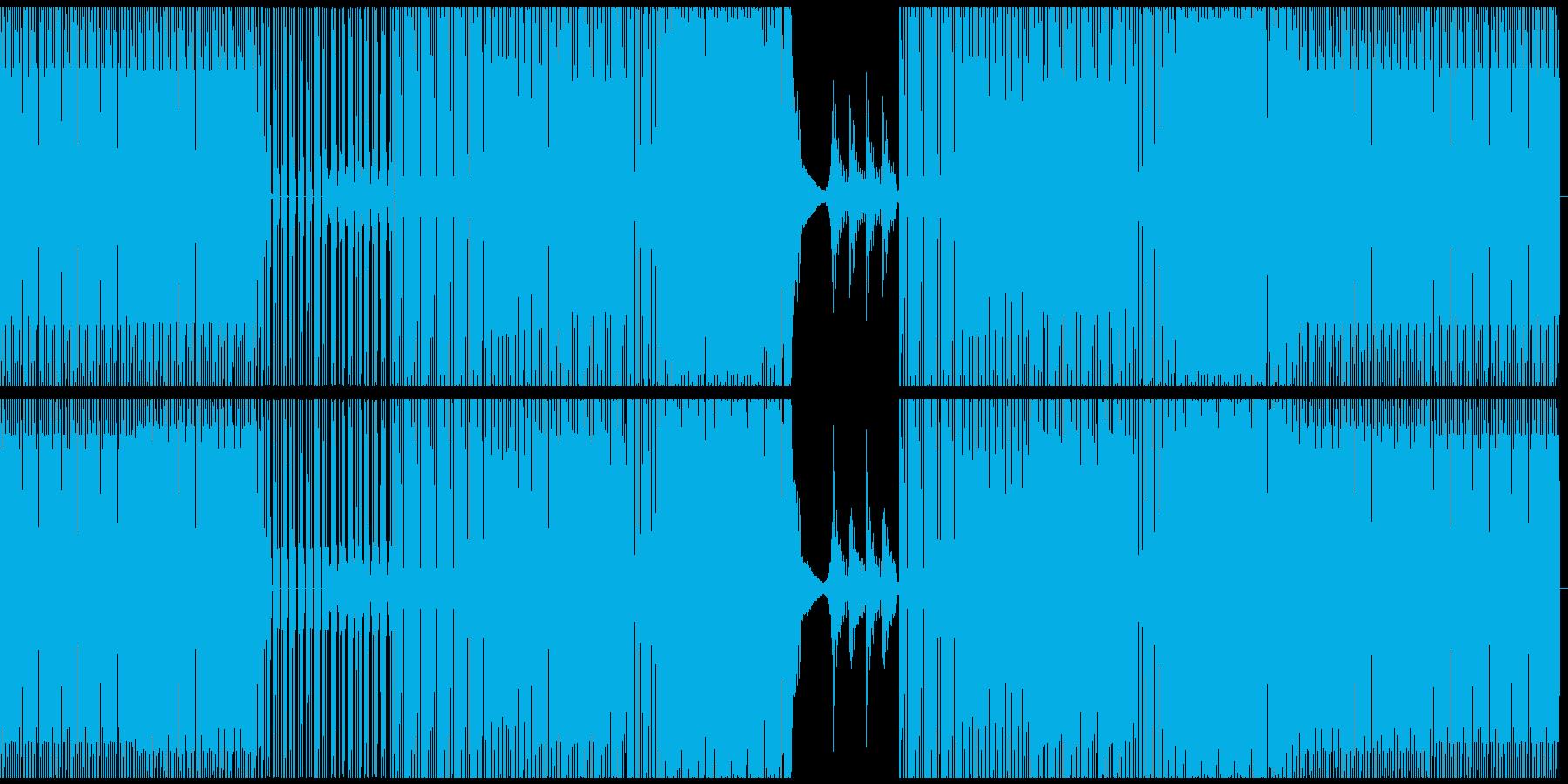 長いイントログルーブとパーカッショ...の再生済みの波形