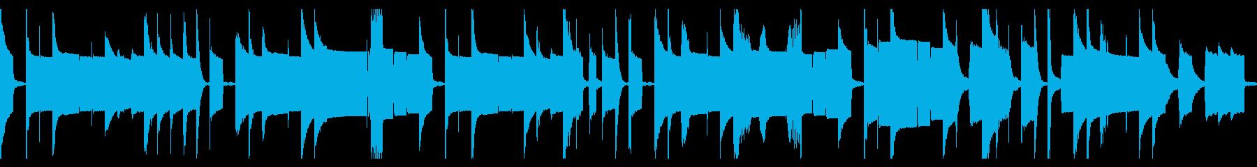 ピタゴラスイッチ風の間抜けなループBGMの再生済みの波形