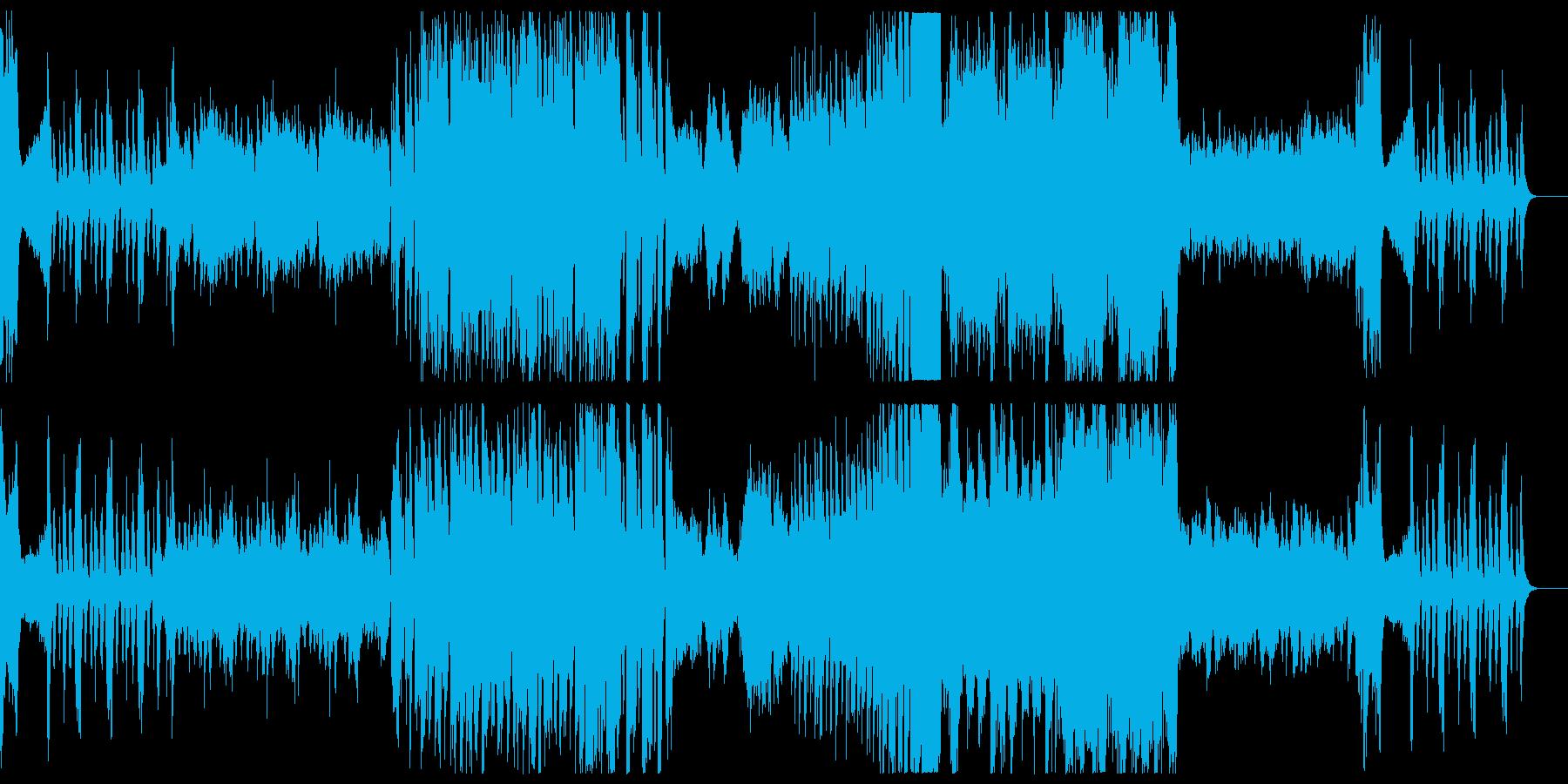 RPG 通常戦闘曲の再生済みの波形