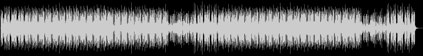格好良いシンセサイザーサウンドの未再生の波形