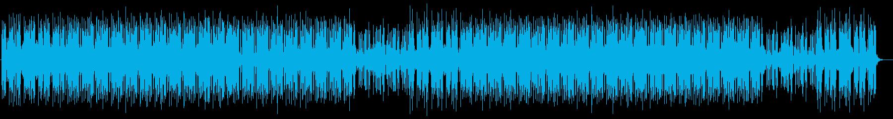 格好良いシンセサイザーサウンドの再生済みの波形