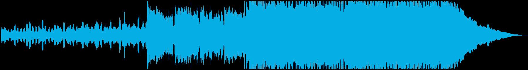 ポジティブで明るいインディーロック...の再生済みの波形
