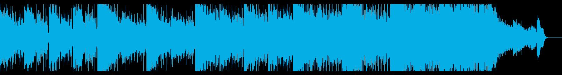 不可思議さが漂うエレクトロニカの再生済みの波形