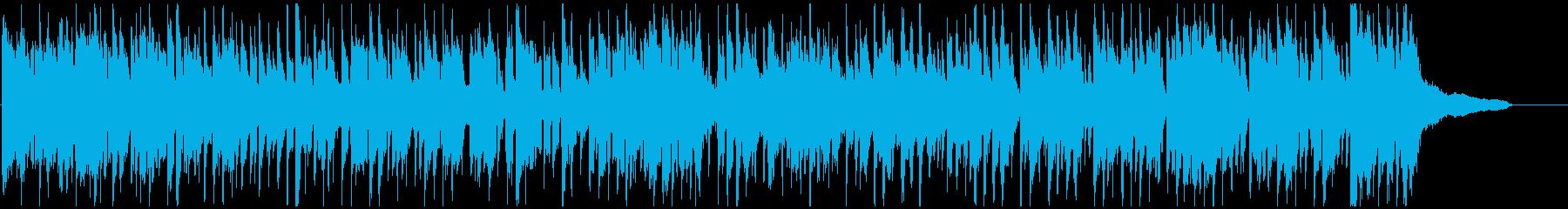 かっこいいスタイリッシュなクラブジャズの再生済みの波形