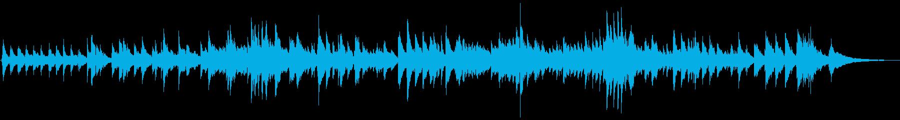 アメイジング・グレイスのギターデュオの再生済みの波形