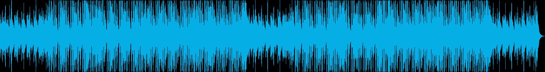 かわいいレトロ軽快エレクトロポップaの再生済みの波形