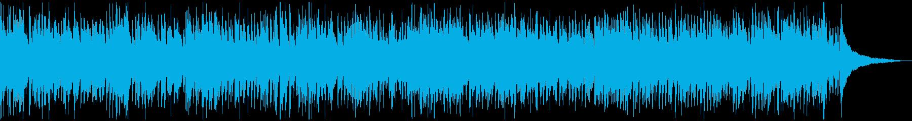 生音・生演奏・軽快で楽しいピアノのジャズの再生済みの波形