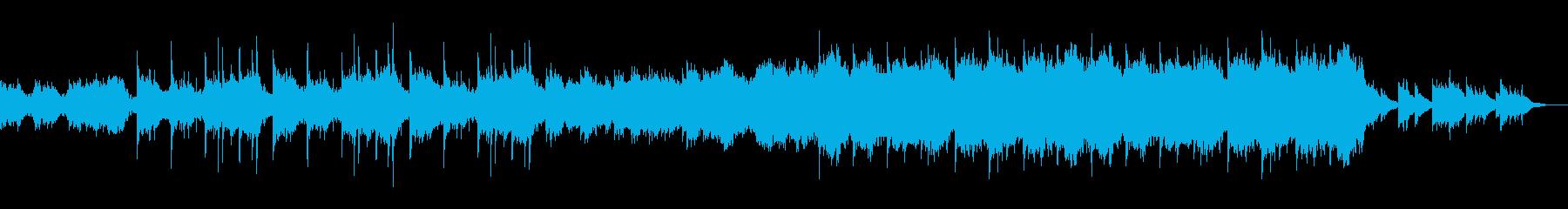 里山和風メロ田舎風企業VPオープニングの再生済みの波形