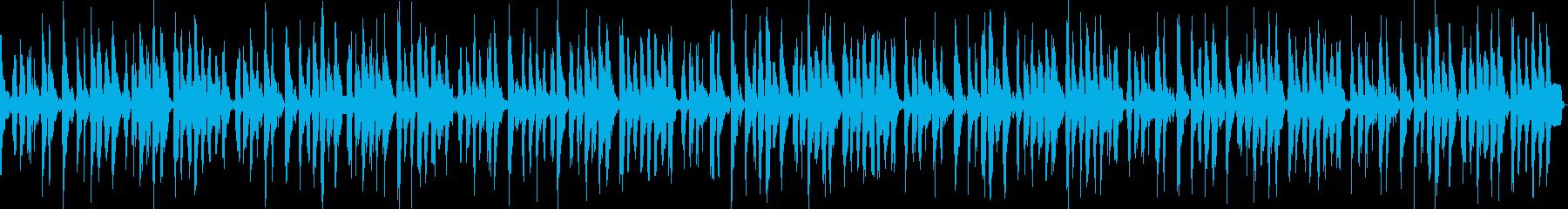 クールなCM ベースとクラップの再生済みの波形