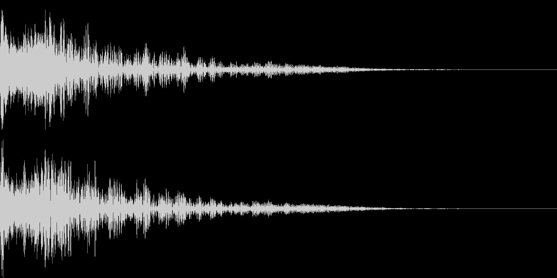 ロボット 合体 ガシーン キュイン 11の未再生の波形