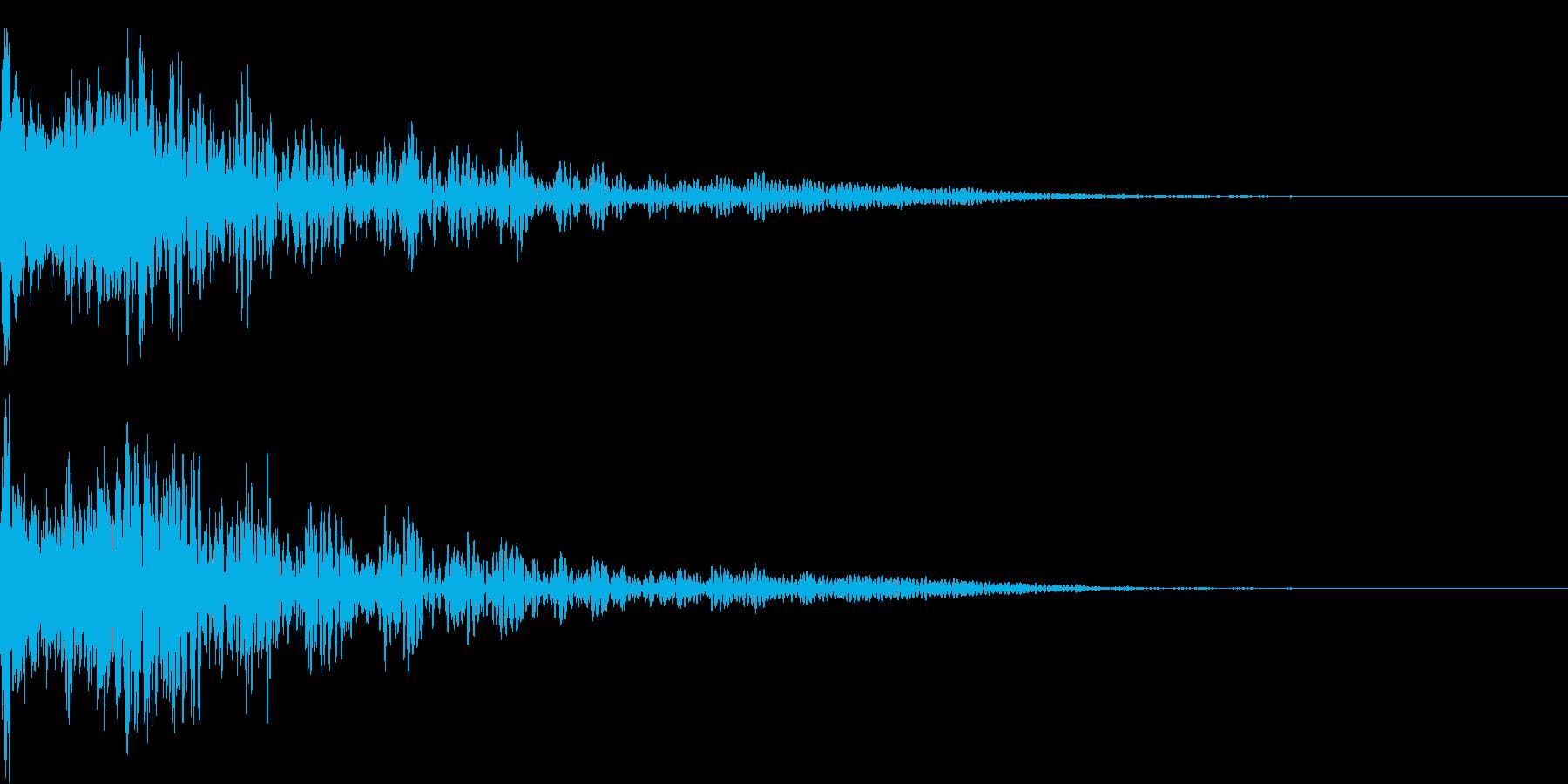 ロボット 合体 ガシーン キュイン 11の再生済みの波形
