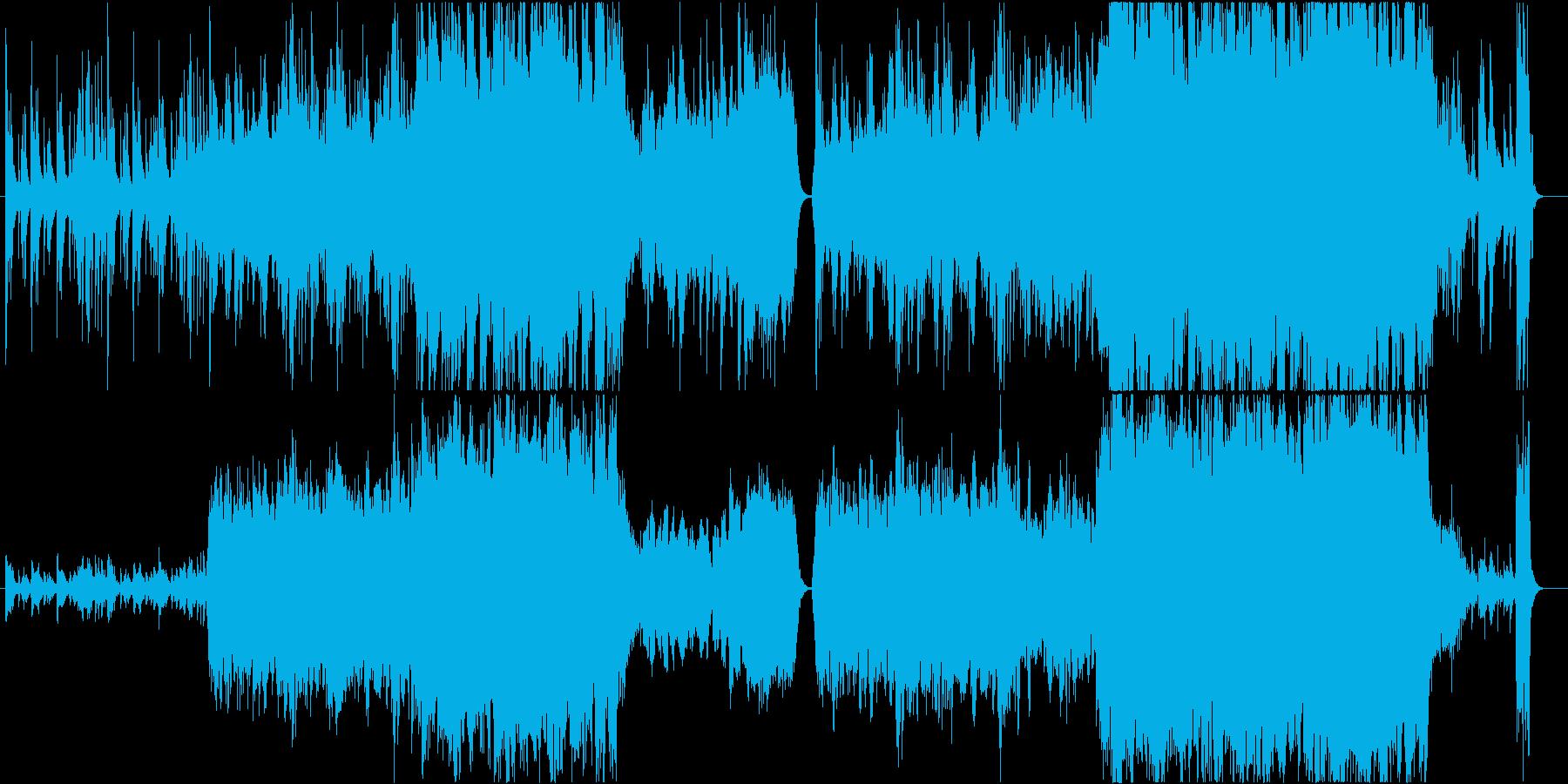 琴線に触れるヴァイオリンの旋律の再生済みの波形