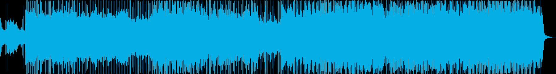 生尺八演奏・ヘビーで勢いのある和風ロックの再生済みの波形