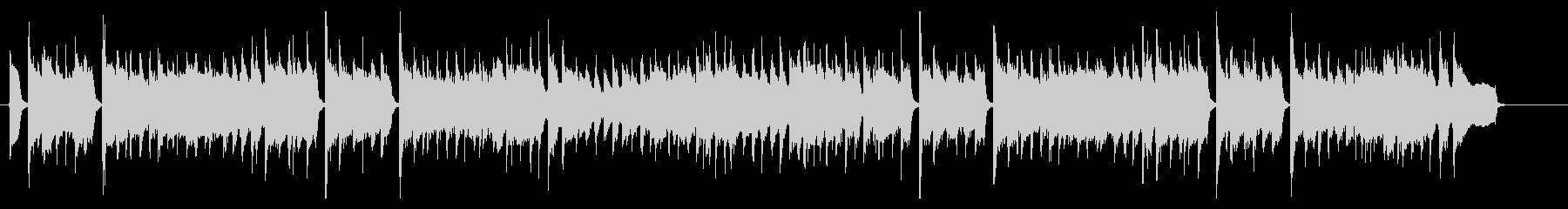アコギの日常系BGMの未再生の波形