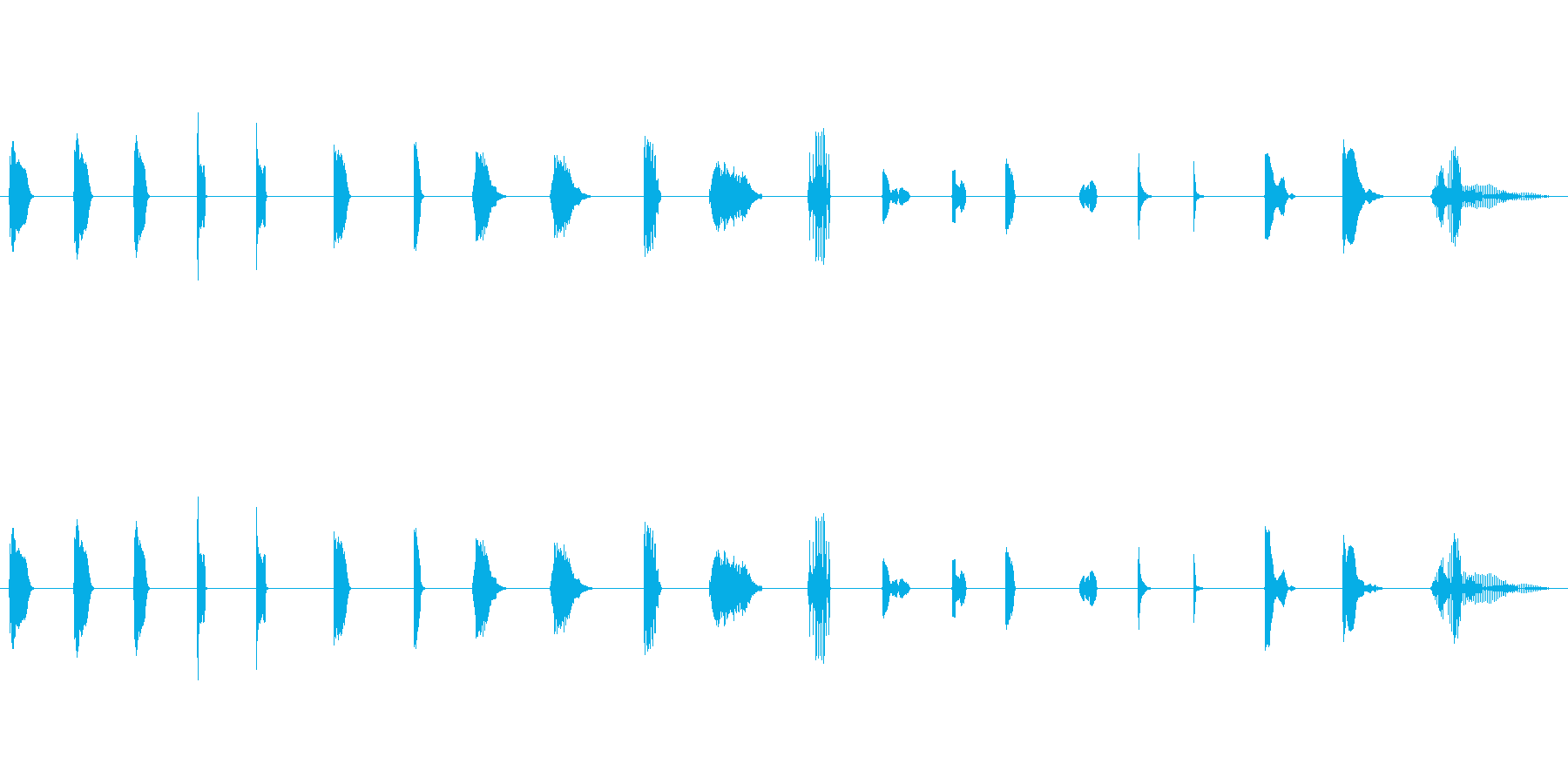 漫画、漫画、21バージョン; DI...の再生済みの波形