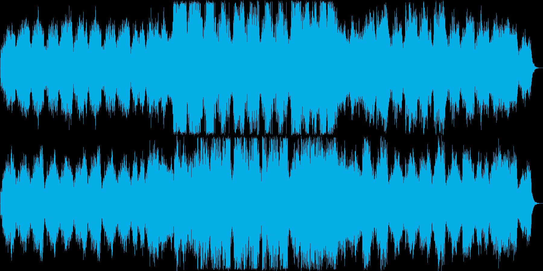 優雅で綺麗なリラクゼーションミュージックの再生済みの波形