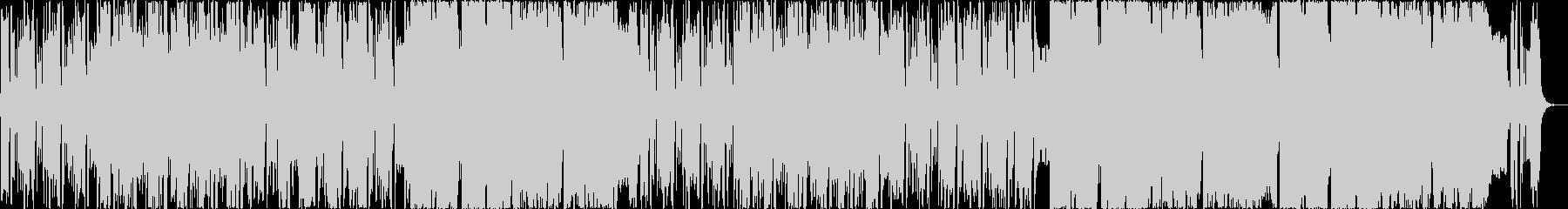 ヒップホップ風インドポップサウンドの未再生の波形