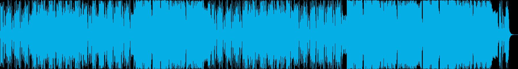 ヒップホップ風インドポップサウンドの再生済みの波形