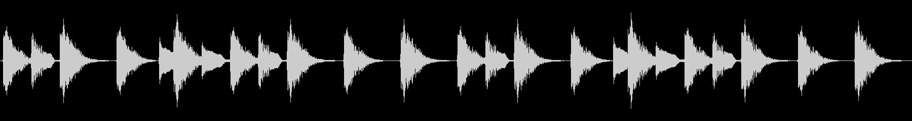 【ドラムロール(ハウス/トランス)】の未再生の波形