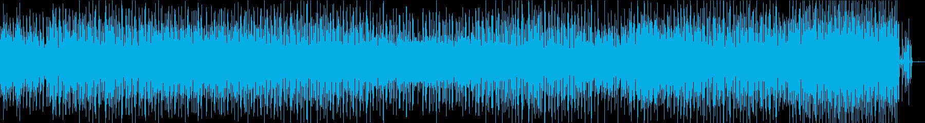 加速するイントロから漆黒のサウンドへの再生済みの波形