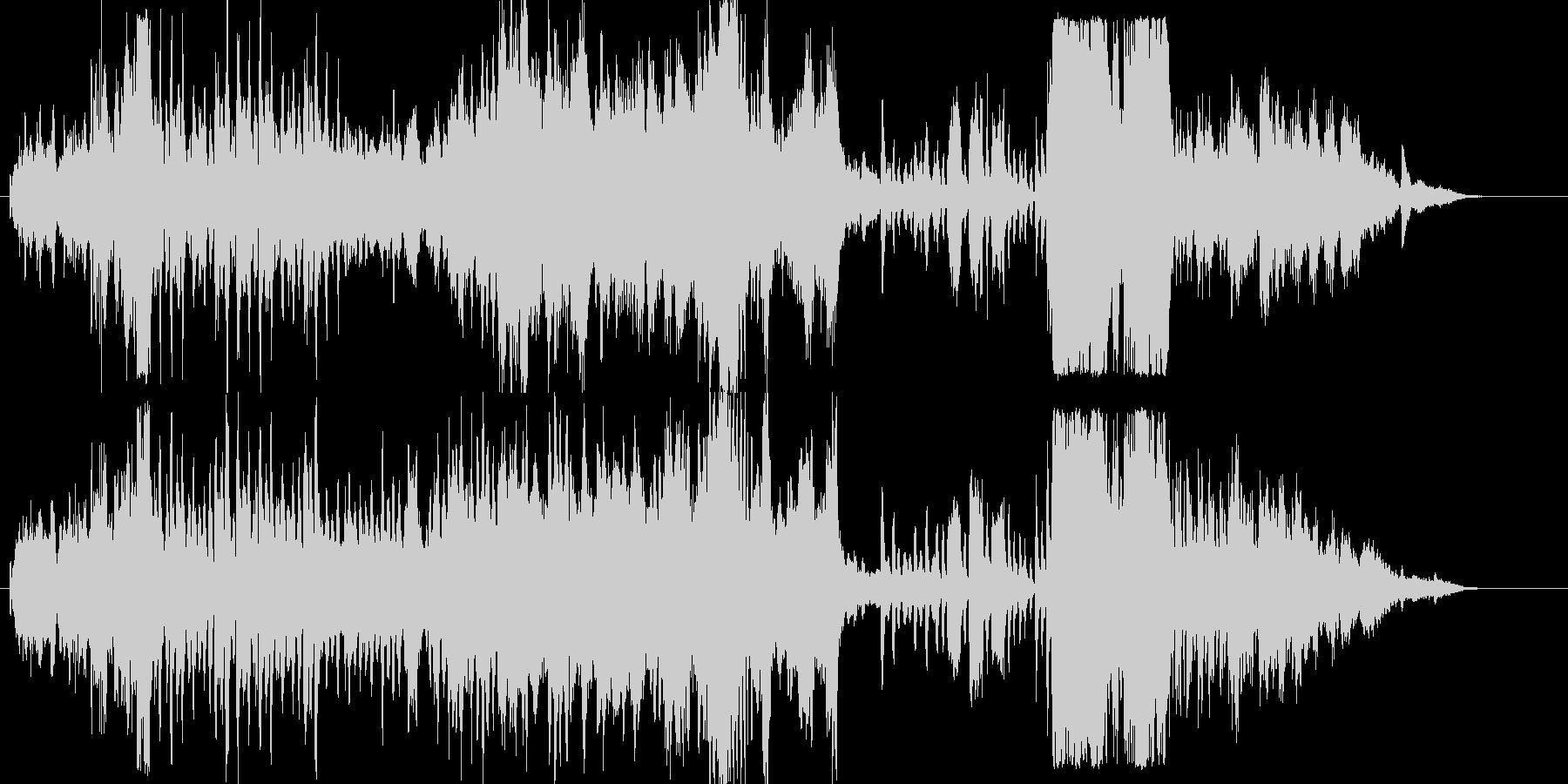 ファンファーレから始まる壮大なオーケス…の未再生の波形