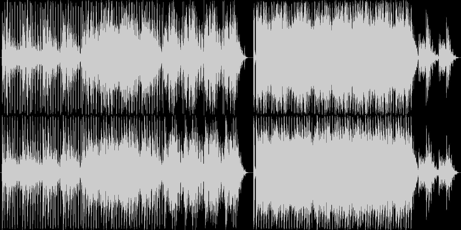 シンプルスタイルテクノです。音源はガジ…の未再生の波形