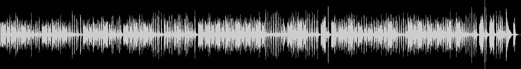 愉快なピアノBGM(明るい・ポップ)の未再生の波形