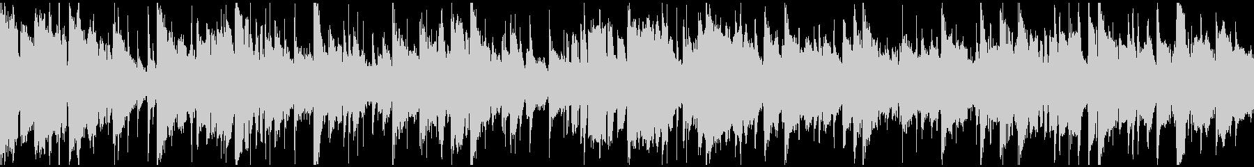 スムースジャズ、大人のサックス※ループ版の未再生の波形