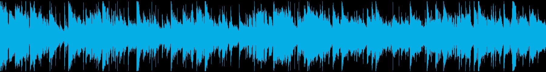 スムースジャズ、大人のサックス※ループ版の再生済みの波形