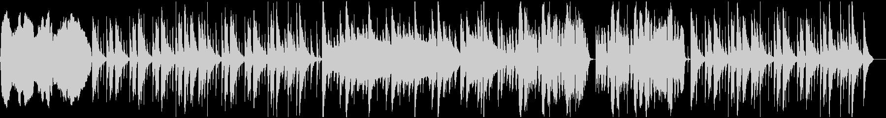 のどか系チェロ、バイオリン、ピアノBGMの未再生の波形