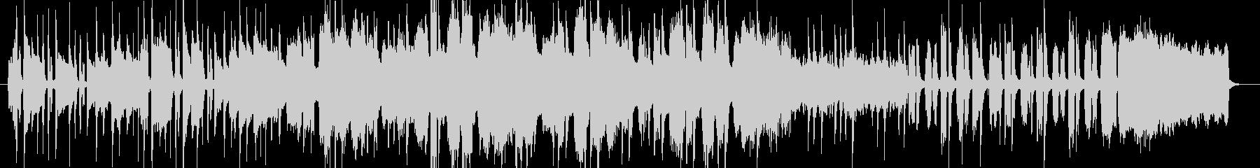 アコーディオンを使った情熱的なBGMの未再生の波形