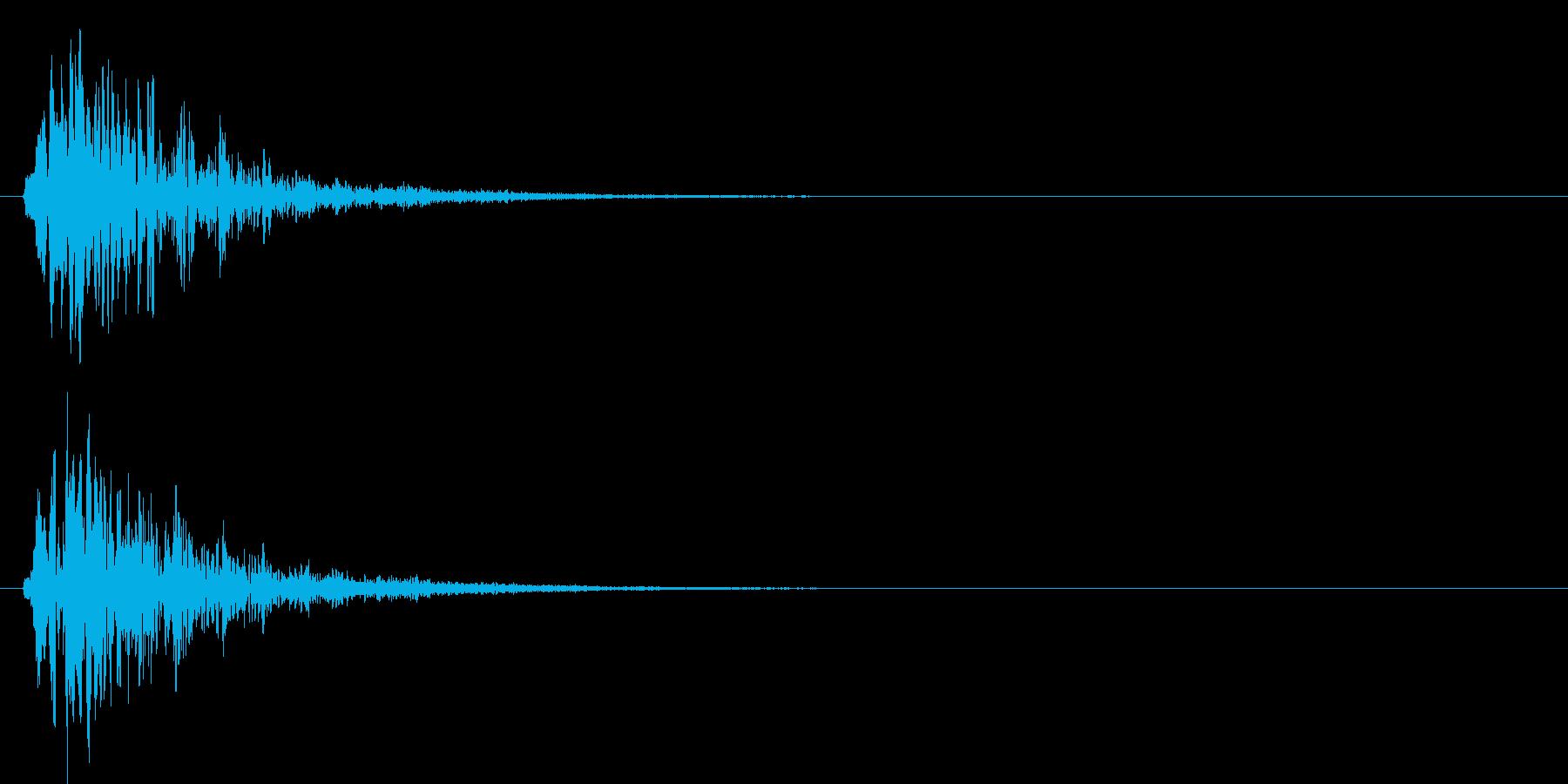 柔らかい魔法等のチャージ音です(ぼよよ)の再生済みの波形