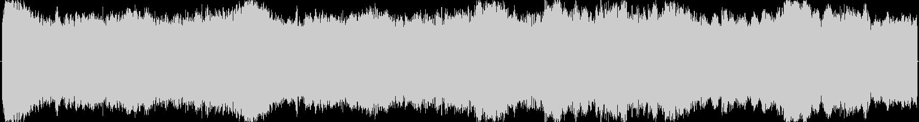 ループ可の明るく壮大なオーケストラBGMの未再生の波形