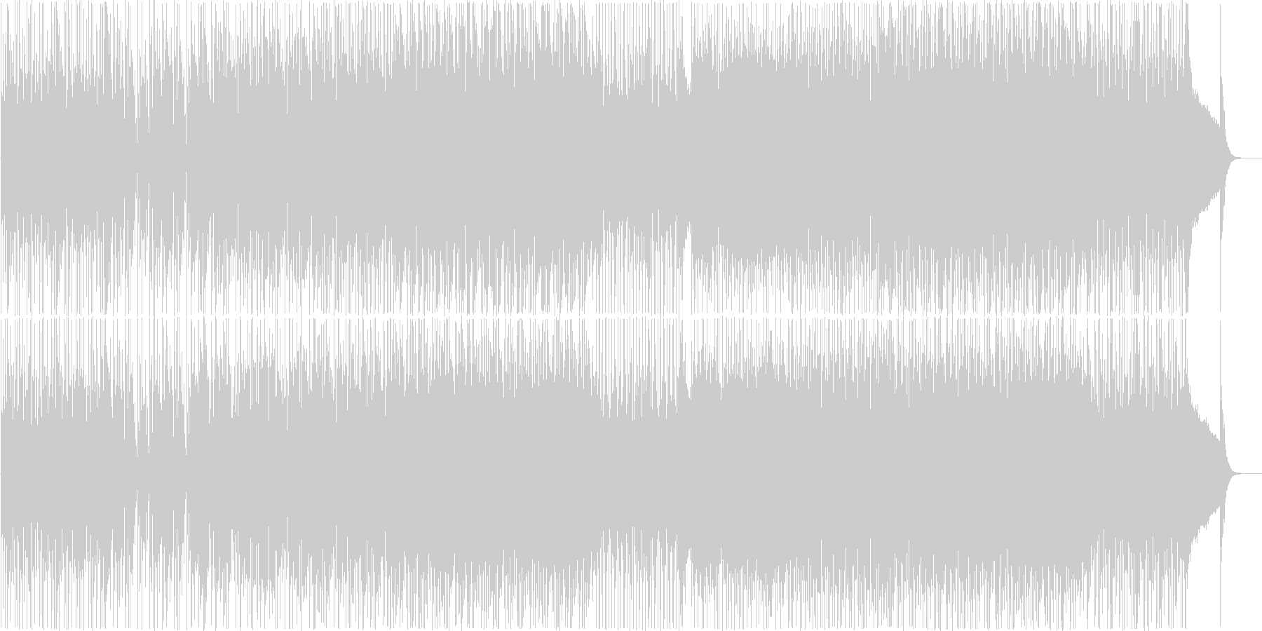 オシャレで軽快なシティポップ Vo 有の未再生の波形