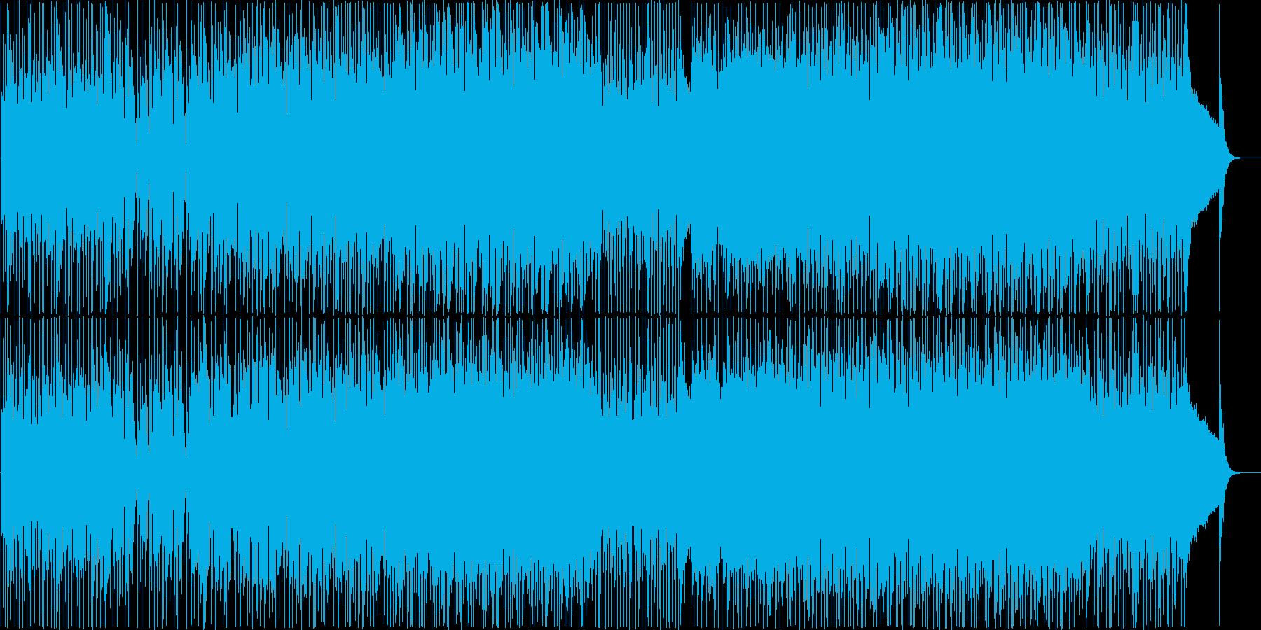 オシャレで軽快なシティポップ Vo 有の再生済みの波形