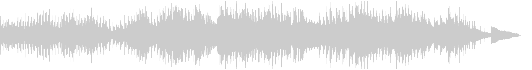 映像・ナレーション用ピアノ演奏(孤独)の未再生の波形