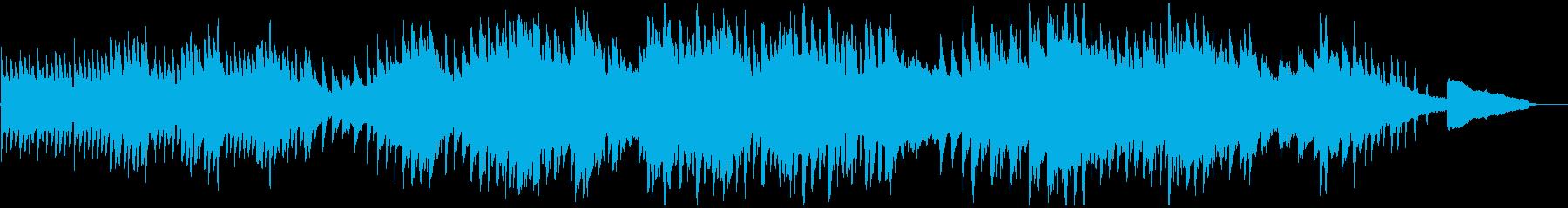 映像・ナレーション用ピアノ演奏(孤独)の再生済みの波形