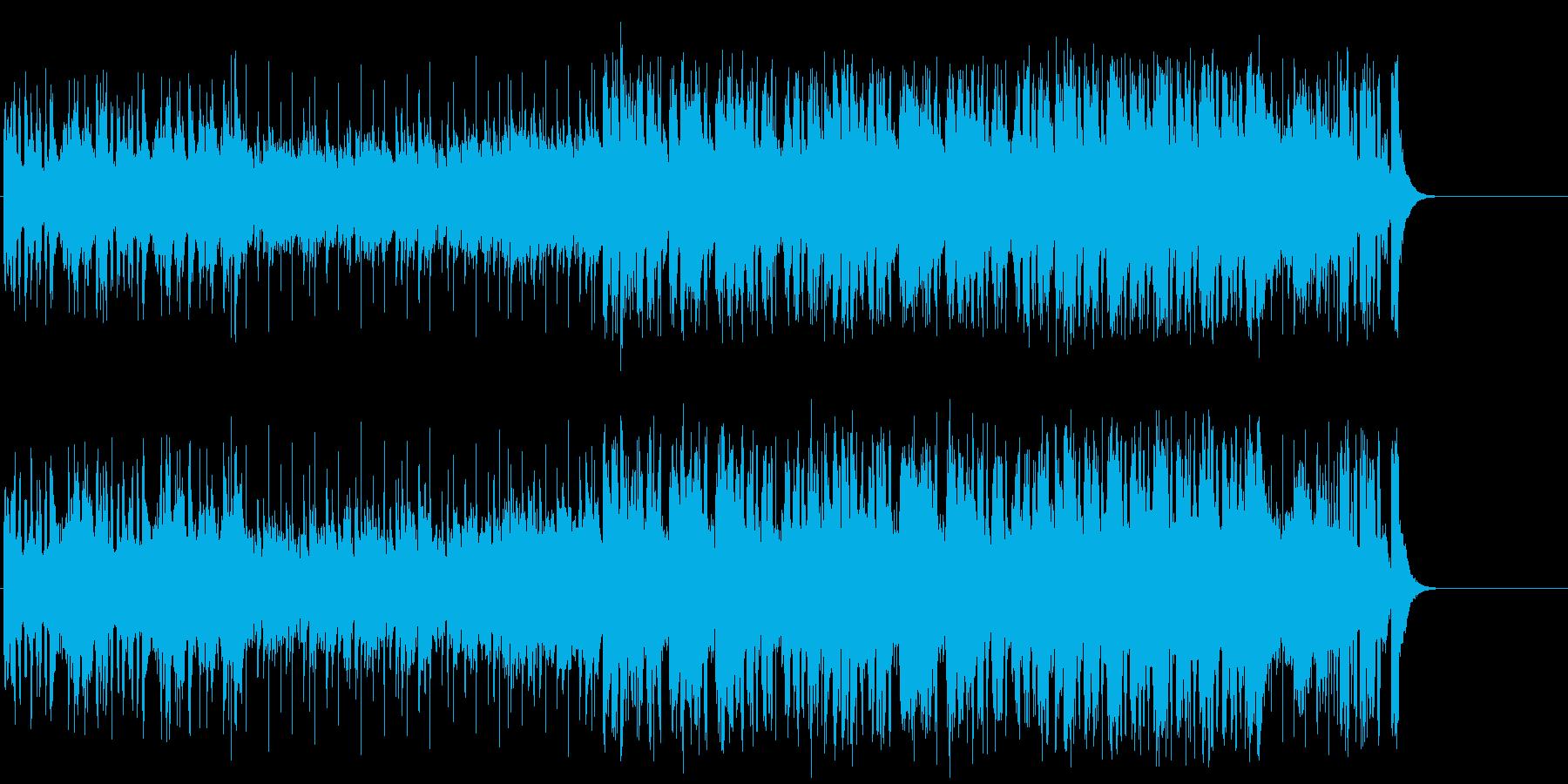 はつらつ気分のポップ(イントロ~A~…)の再生済みの波形