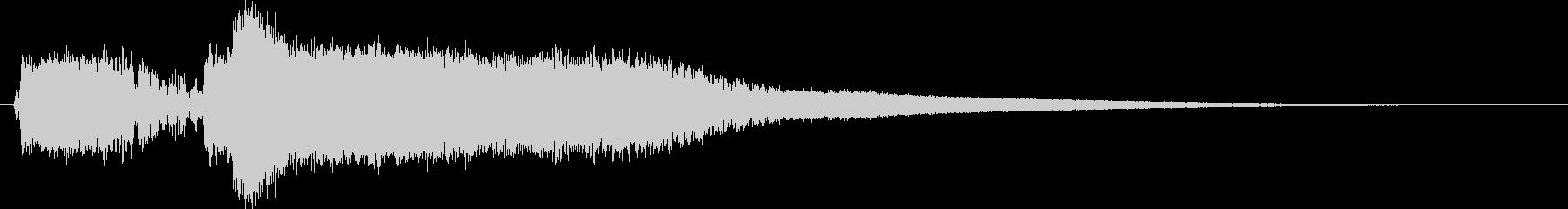 モンスターの鳴き声(ギャース1)の未再生の波形