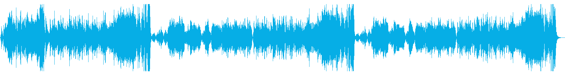木管と弦の室内楽による軽快な序曲の再生済みの波形