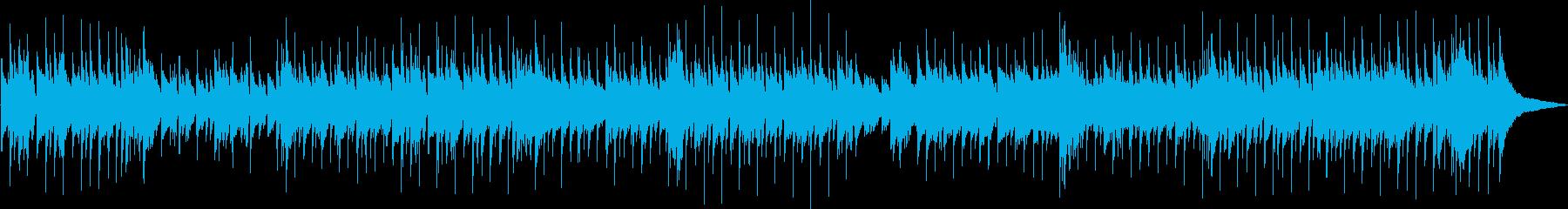 カントリー、フォーク、バラードの再生済みの波形