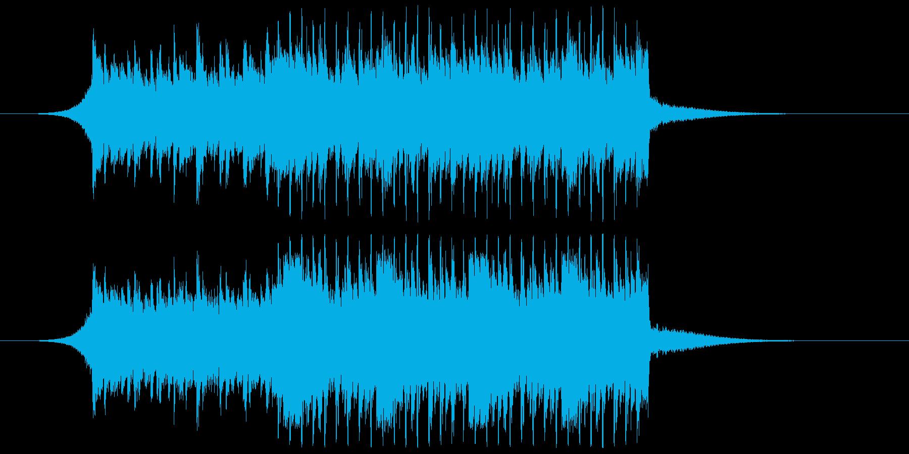 【爽やか】企業VPや映像、ピアノ透明感の再生済みの波形