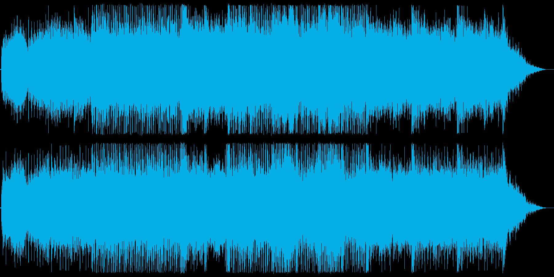 Chill/Healing系シリーズ曲2の再生済みの波形